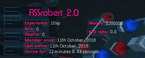 Player statistics userbar for RSSrobert_2.0
